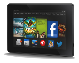 "Lapine: Kindle Fire 7"" 16 GB tablet with HD Display"